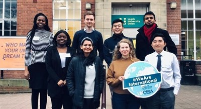 Applications now open to become a #WeAreInternational student ambassador 2020-22